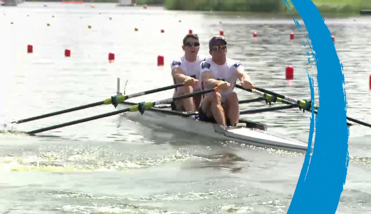 (LM2x) Lightweight Men's Double Sculls