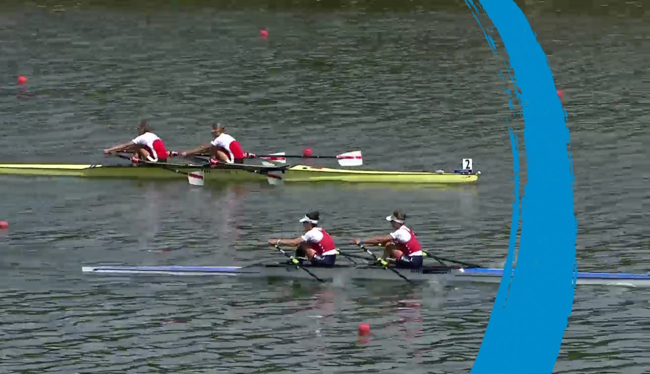 (LW2x) Lightweight Women's Double Sculls